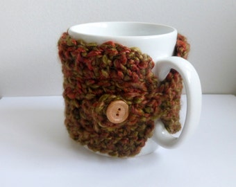 Coffee Cup Cozy Coffee Mug Warmer Crocheted Mug Cozy Crocheted Coffee Cup Warmer
