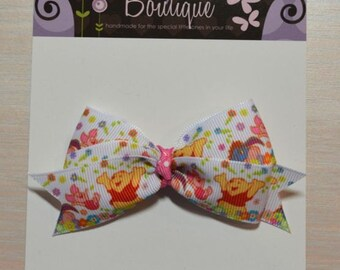 Boutique Style Hair Bow - Winnie the Pooh