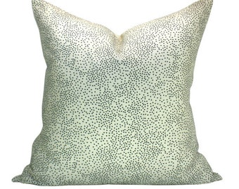 Confetti pillow cover in Cream