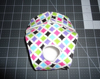 Female Dog Diaper...Choose your color or Holiday Fabric