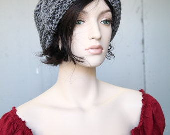 Hand crafted crochet hobo hat