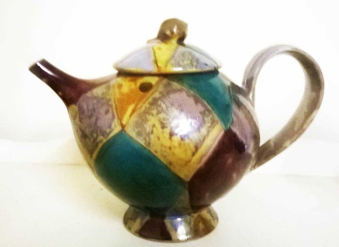 Unique Dartington Studio Pottery Teapot
