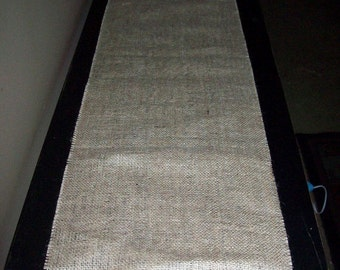 "COUPON CODE 10off50 14"" 14 Inch Wide Natural Burlap Table Runner Runners  Rustic Country Chic Wedding Recept"