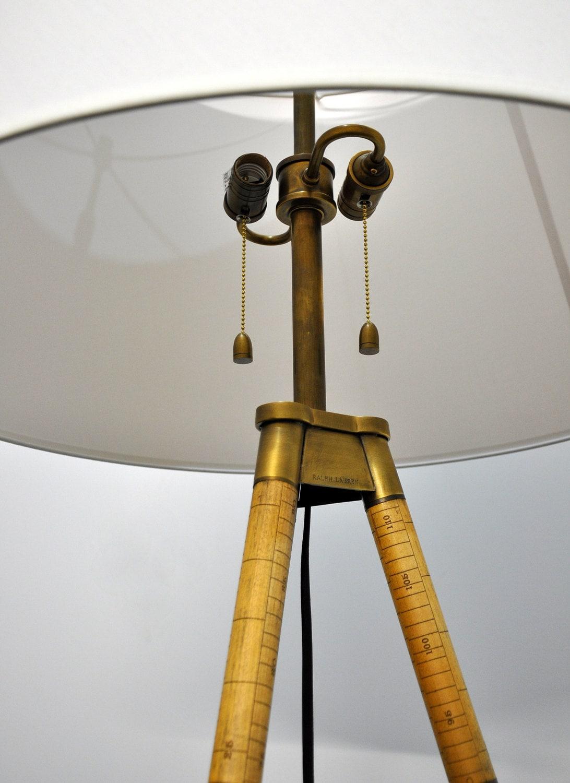 Vintage Ralph Lauren Floor Lamp Irwin By Selectmidcentury