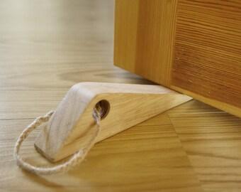 Door Stops Wooden Doorstop Business Oak door stop Wood Door Stopper Rustic Doorstop