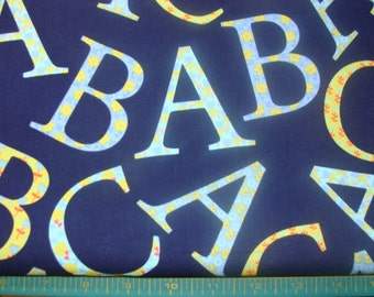 Micheal Miller ABC cotton fabric BTY