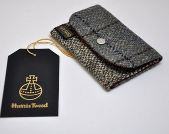 HARRIS TWEED small card holder / coin purse - All in One