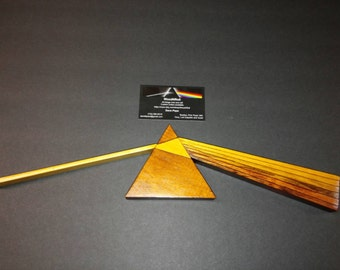 Pink Floyd, Dark Side of the Moon Wood Sculpture