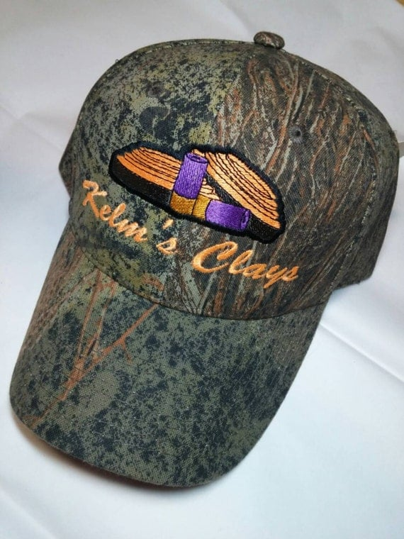 How To Shoot Hat Images On A Budget: Sporting Clays Skeet Trap Shooting Hat By BeadsandThreadsbyAmy