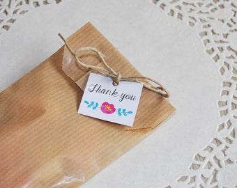 15 little tags custom set for wedding birthday party