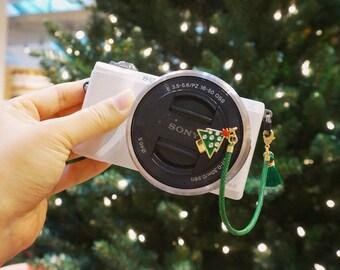 Camera Lens Cap Holder - Christmas Tree