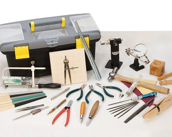 Jewelers Complete Hand Tool Value Kit Set Start Making Your Own Jewelry Today! KIT-100.10