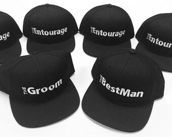 Bachelor Caps(Snapback) for the Groom & His Entourage!