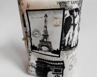 Retro Paris Journal Handmade, Diary,