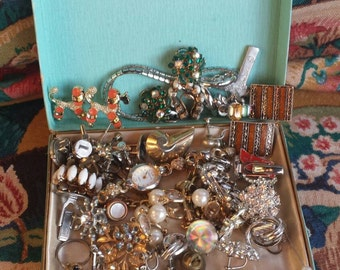 Vintage Costume Jewelry Collection 50s and 60s