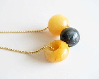 Mustard Necklace