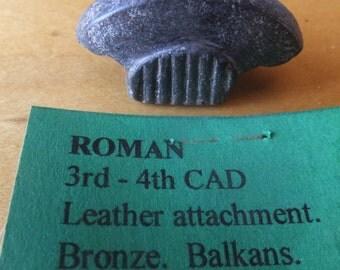 3rd Century Roman Bronze Leather Attachment