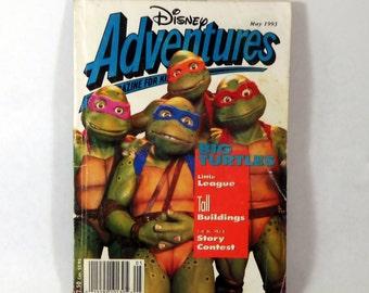 Disney Adventures Magazine, TMNT 1993