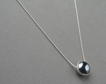 Hematite Floating Necklace