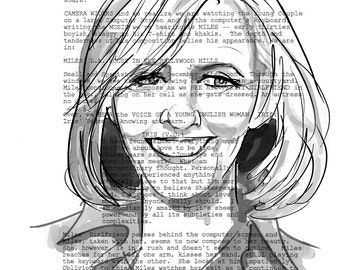 Nancy Meyers Screenplay Portrait (The Holiday)