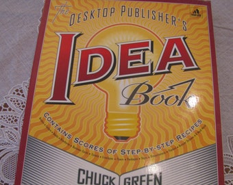 Idea Book | Desktop Publishing | Design Shop | Graphic Designer
