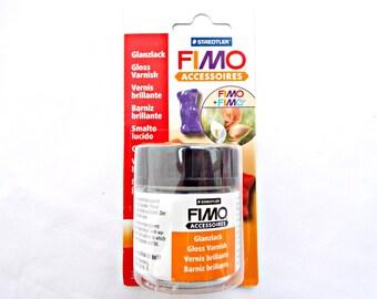 Fimo Gloss Varnish, 35ml Clay Varnish, Water Based Varnish, Clear Varnish, Polymer Clay Varnish, Craft Barnish, Fimo Supplies, UK Seller