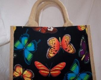 Hessian Bags, Designer Cotton Fabric