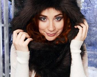 """Hat """"Brown Bear"""" mod. A, faux fur."""