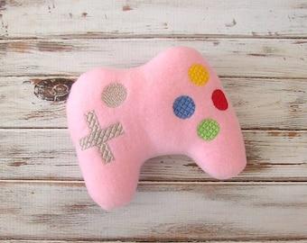 Nerdy Baby, Geek, Game Controller, Geeky, New Baby Gift, Fleece, Stuffed Toy,