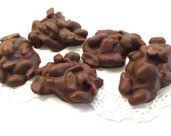 Vegan Chocolate Nut Clusters