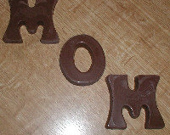 MOM Letters  Chocolate Mold