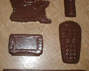 Couch Potato Set Chocolate Mold
