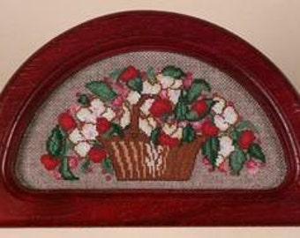 Vintage Floral Basket and Frame Kit