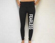 Fearless workout Pants. Workout Leggings. Fearless. Fitness Pants. Gym Pants. Cross Training Pants.. Yoga Leggings. COMPRESSION PANTS. Yoga