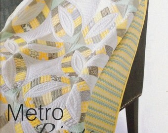 Metro Rings Quilt Pattern - Sew Kind of Wonderful - SKW 402 - QCR Pattern