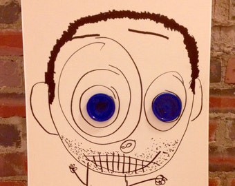 Shnuggunhud has Blue Eyes