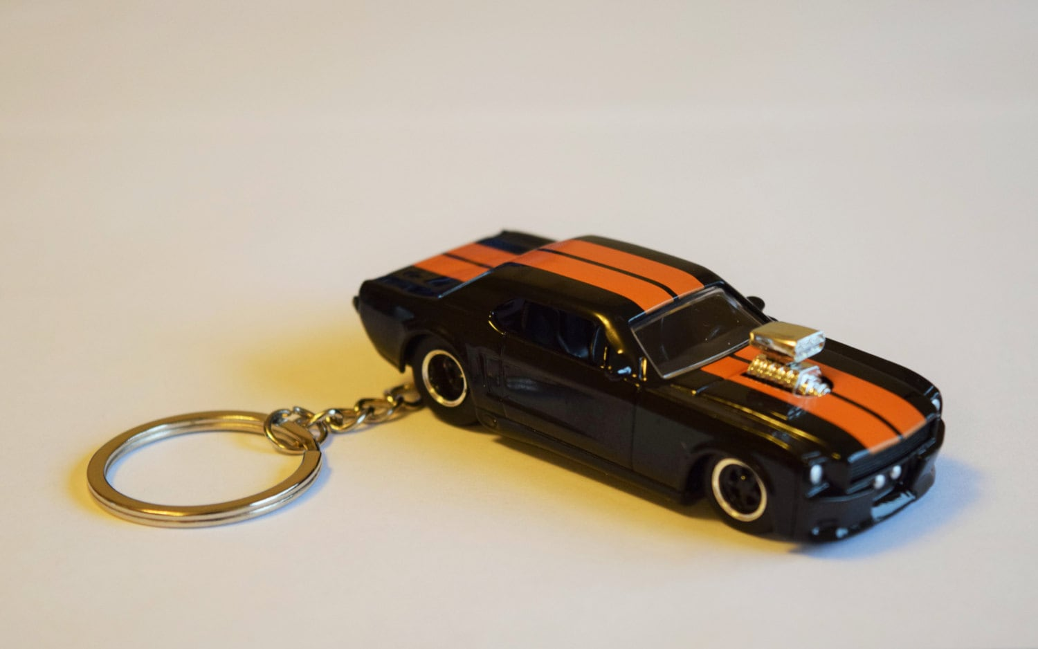 1965 Ford Mustang Keychain