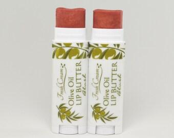 Tinted Lip Butter: Blush organic lip balm