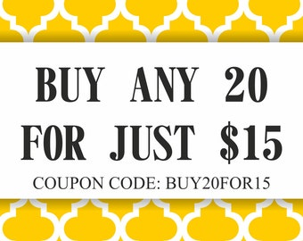 Digital Paper Sale, Coupon Code GET20FOR15 (Please Do NOT Purchase This Listing)