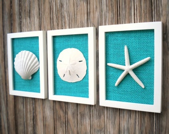 This way to the beach wall decor