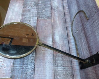 Vintage Hanging and Swiveling Mirror