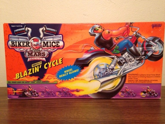 Biker Mice From Mars Blazin' Cycle Throttle's by MikesVintage