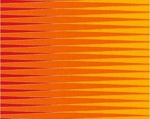 BRIGHT by Lunn Studios, Inc. from Harlequin Metalic by Robert Kaufman Fabric 100% cotton FLAME Red, Orange, Yellow