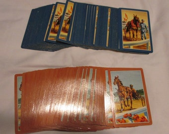 2 Decks of Vintage Horse Racing Playing Cards