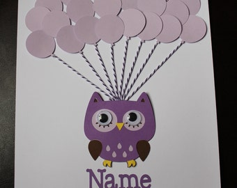 Owl Baby Shower Sign In Book, Owl Guest Signature book, Owl Sign in poster, Alternative Guest book, Owl Baby Shower Guest book