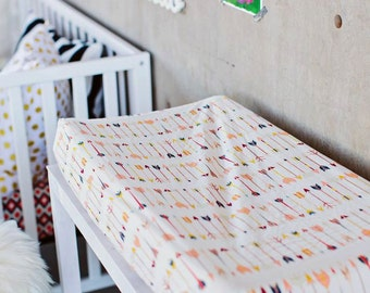 Arrow Changing Pad Cover, Changing pad cover, arrows