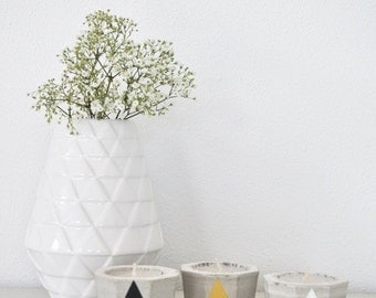 DIY-kit Concrete Votive
