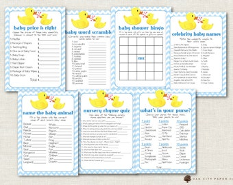 Rubber Ducky Baby Shower Games - Rubber Duck Baby Shower Games, Ducky Baby Shower Games, Baby Shower Games, Rubber Ducky Baby Shower - DIY