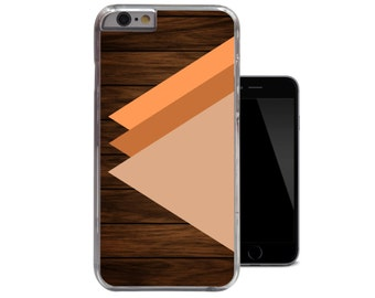 Wood Print iPhone 6 Case Colour Block iPhone 5 Case Geometric iPhone 5c Case Color Shapes iPhone 4 Case Unique Geo iPhone 4s 5s Cover (A129)