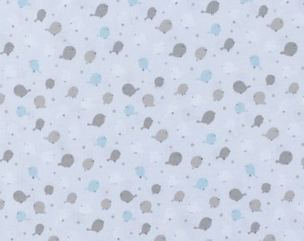 Small birds on a pale blue fabric by StudioE | cotton fabric by the yard | quilting fabric | sewing fabric | fabric with birds